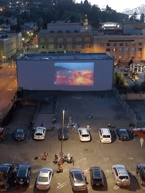 pop up drive in